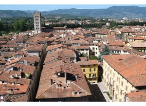 The rooftops of Lucca. (Photo by Mark Micheli)